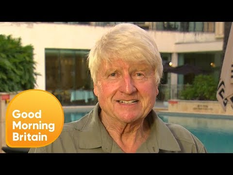 I'm A Celeb's Stanley Johnson Is 'Totally Disappointed' He Didn't Win! | Good Morning Britain