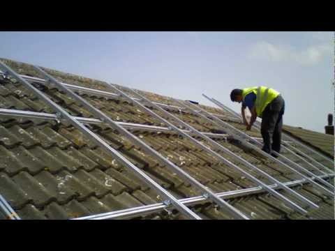 Solar PV Installation on a domestic property