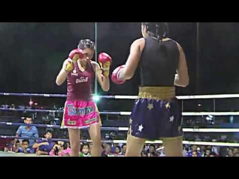 Muay Thai women Yodmintra Sityodthong VS Namtan por.Muangpet