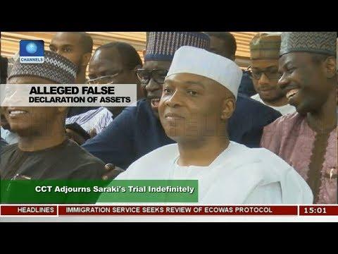 CCT Adjourns Saraki's Trial Indefinitely  News Across Nigeria 