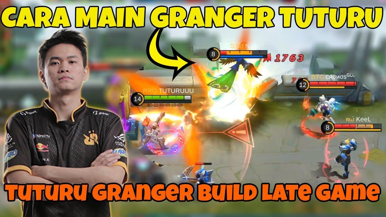 Download CARA MAIN GRANGER DAMAGE SAKIT DARI RAJA MM RRQ TUTURU PRO BUILD TERBARU #granger