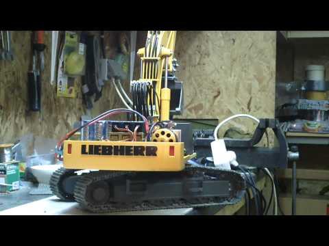 Liebherr 944b pump test
