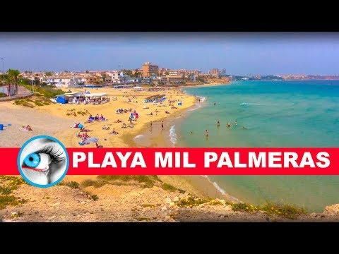 MIL PALMERAS - PLAYA DE LAS MIL PALMERAS - 4K 2017 - SPAIN