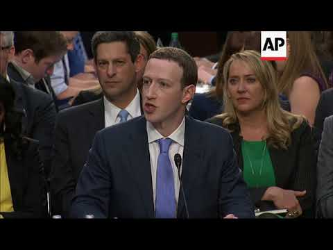 Facebook CEO challenged over own privacy in Senate hearing - YouTube