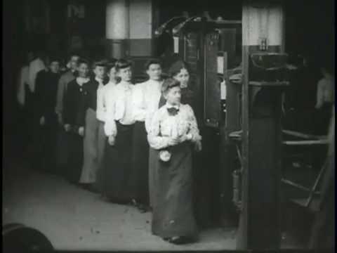 Girls Taking Time Checks, Westinghouse Works
