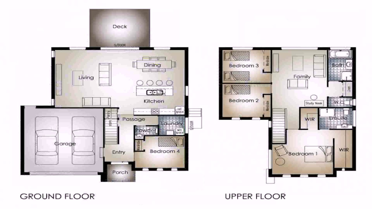 2 Story House Plans With 4 Bedrooms Upstairs Gif Maker Daddygif Com See Description Youtube,Best Artificial Christmas Trees With Lights