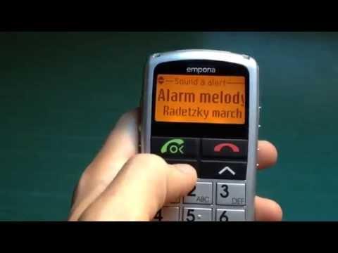 Emporia Talk Premium review (ringtones & specs) Ederly phone, big keyboard