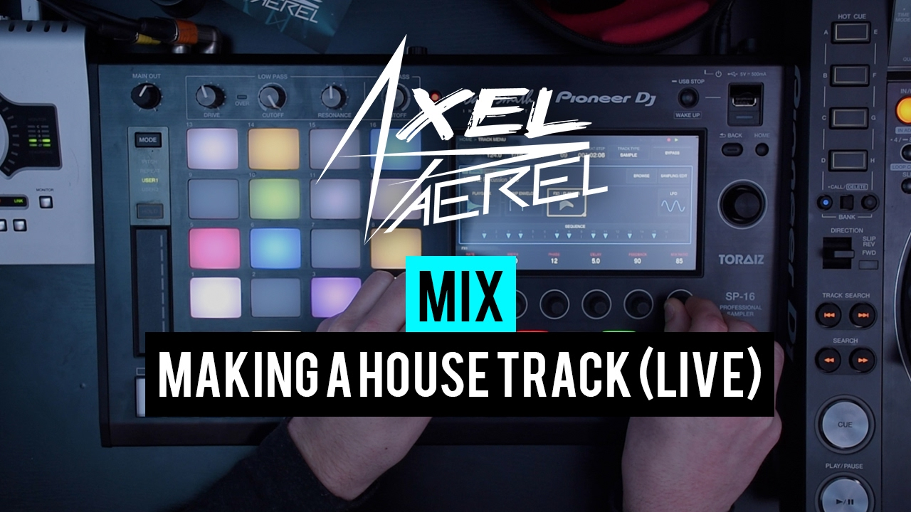 Making house music with toraiz sp 16 live youtube for House music maker