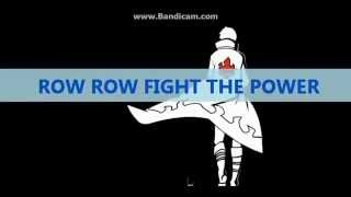 Tengan Toppa Gurren Lagann - Libera Me From Hell (Row Row Fight The Power) with lyrics