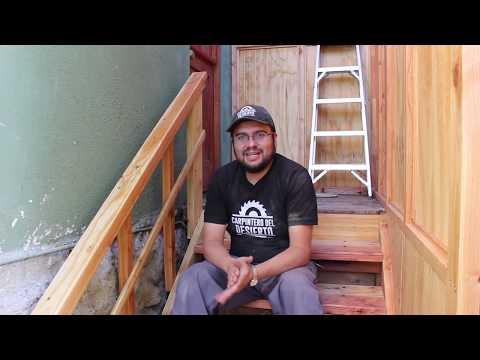 Construcción Escalera Metal y Madera - Parte 3