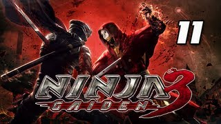 Ninja Gaiden 3 Walkthrough - Part 11 [LOA Biolab] Virtual World PS3 XBOX Let's Play