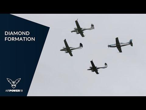 DIAMOND AIRCRAFT Formation (DA42/DA62/DART) | AIRPOWER19
