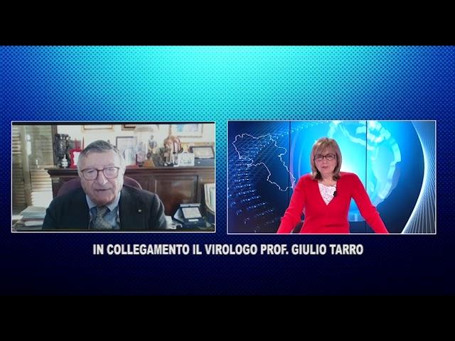 AGGIORNAMENTO CON IL PROF GIULIO TARRO VIROLOGO DI FAMA INTERNAZIONALE