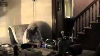 Part 2 Elderly seeing the Spirits (Caught a wavy dark entity by dining chair)