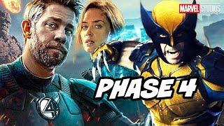 Avengers Fantastic Four Comic Con Teaser - Wolverine X-Men Marvel Phase 4 Breakdown