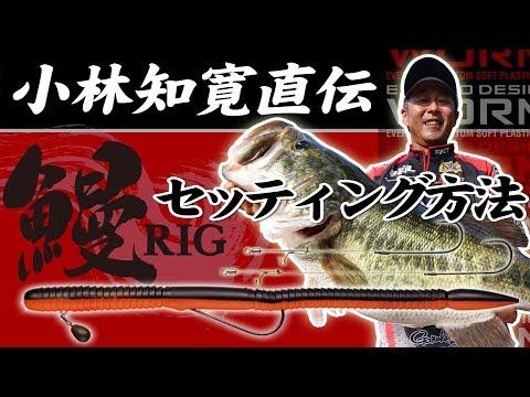 小林知寛直伝!鰻RIGセッティング方法【水中動画アリ】