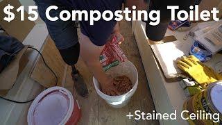 VanLife $15 COMPOSTING TOILET - (Cheaper than Nature's Head, Air Head, Luggable Loo)