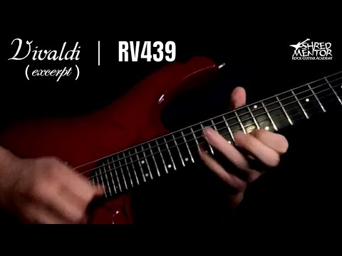 Vivaldi RV439 (Excerpt) — Jason Aaron Wood | ShredMentor