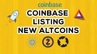 Coinbase to list Cardano, Zcash, Stellar Lumens, 0x, Basic Attention Token