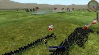 "Empire: Total War-American Civil War Mod; ""The Blue and the Grey"" Multiplayer Battle"