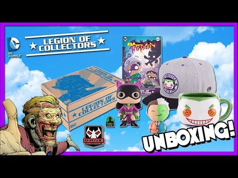 Batman Villains Legion of Collectors Unboxing!