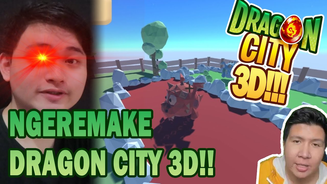 KATA ILHAM GW DISURUH BUAT GAME DRAGON CITY 3D!! ..