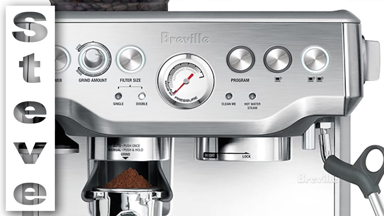 Breville Barista Express Coffee Machine Unboxing And Review Youtube