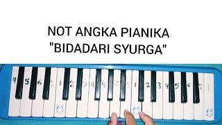 """Download Mp3 Not Pianika """"bidadari Syurga""""    Belajar Pianika"""