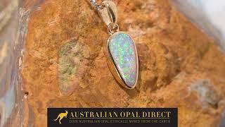Opal Necklace, Opal Necklace A…
