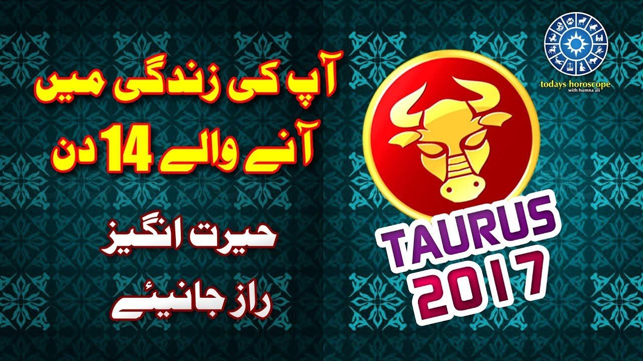 TAURUS | Today's Horoscope In Urdu 2017