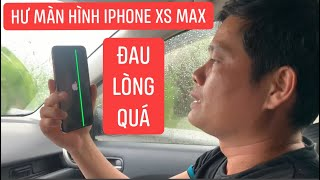 Cuộc điện thoại định mệnh, làm IPhone Xs Max của Khương Dừa hư màn hình, đau lòng sửa hết 6 triệu