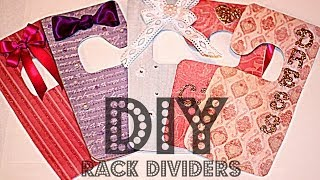 Diy Rack Dividers - Organize Your Closet