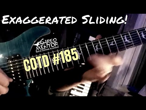 Exaggerated Sliding | ShredMentor Challenge of the Day #185