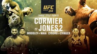 UFC 214: Media Conference Call -