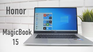 Honor MagicBook 15 Windows Laptop Overview & Impressions