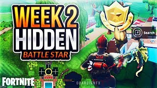 Fortnite S5 Week 2 - SECRET HIDDEN Battle Star LOCATION [Free Battle Star]