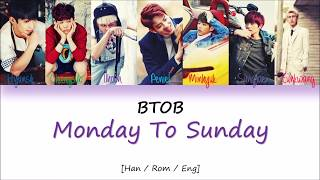 BTOB - Monday To Sunday