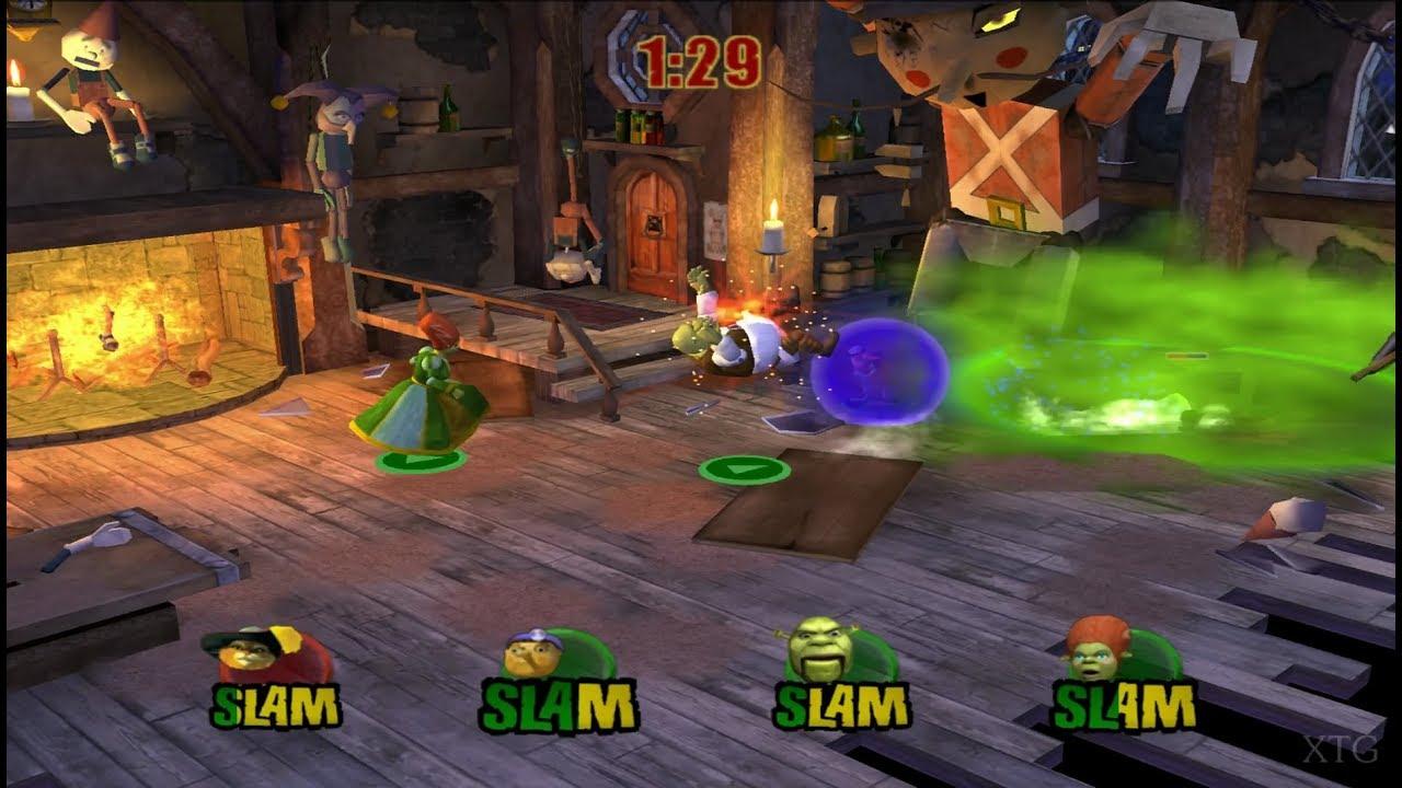 Shrek Superslam Ps2 Gameplay Hd Pcsx2 Youtube