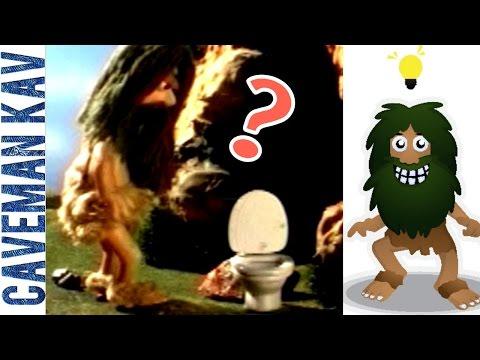 Toilet - A Discovery Comedy #04 : CAVEMAN KAV