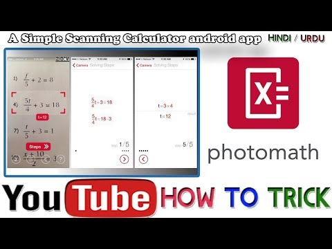 How to solve any mathematics equation with photo scanning