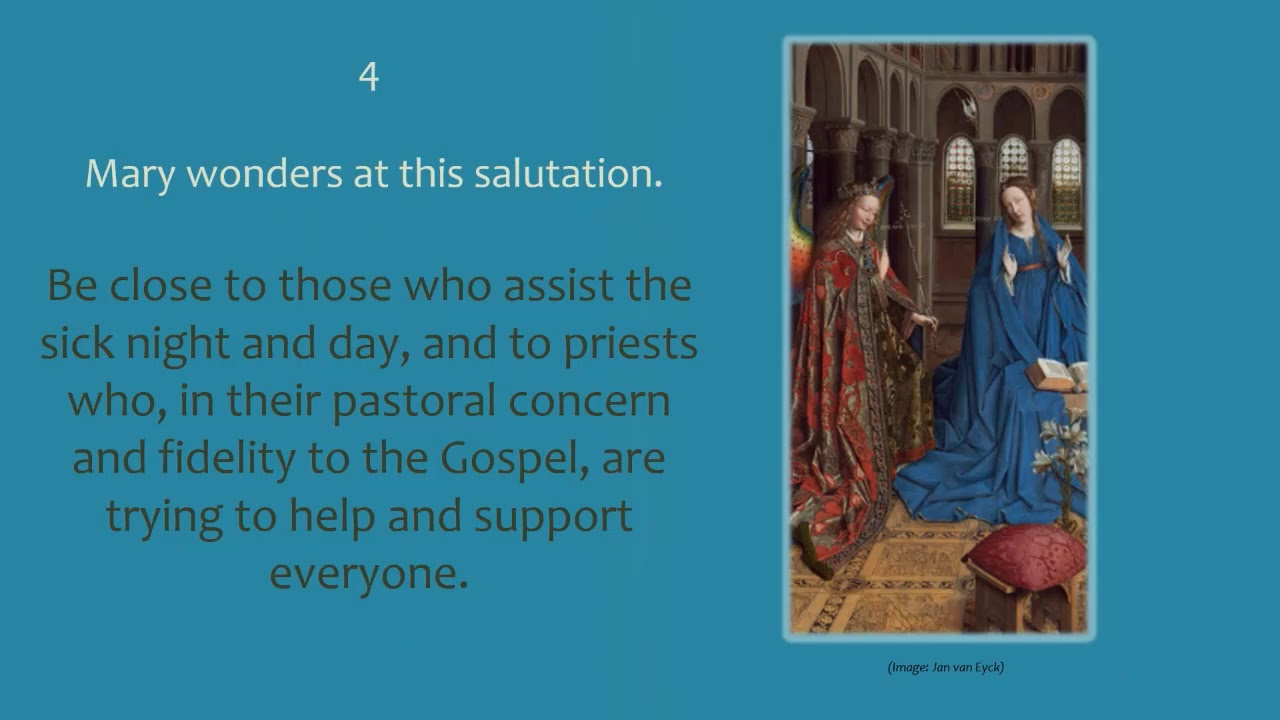 Download Diocese of Westminster Education Service - First Joyful Mystery / The Annunciation 1