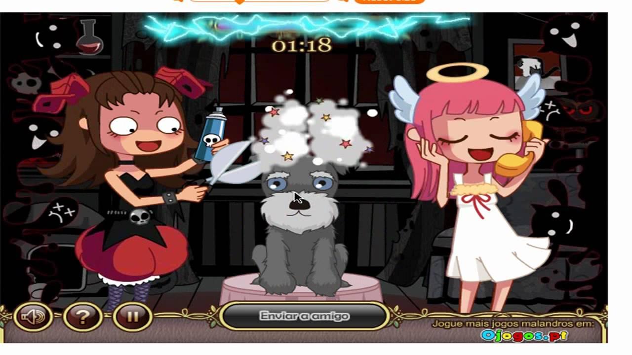 Devilish pet salon - YouTube