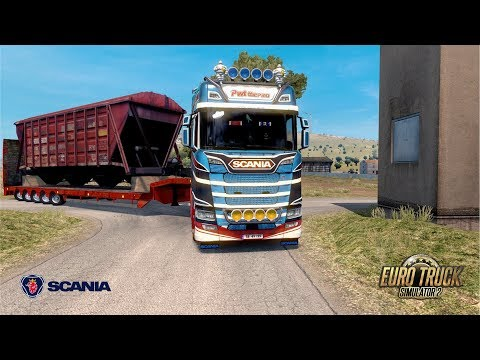 ETS2 1.30 - DLC Bella Italia - Scania S650 - Palermo to Messina