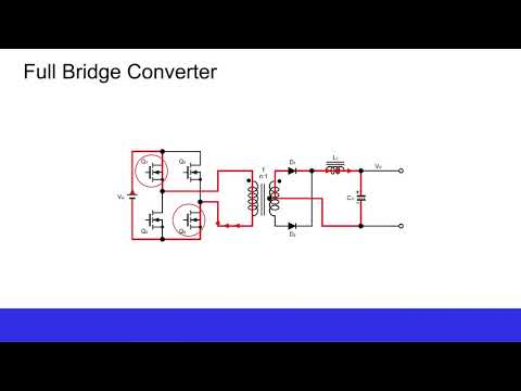 [ e - Learning ] Full Bridge Converter - Basics of Switching Power Supplies (5)
