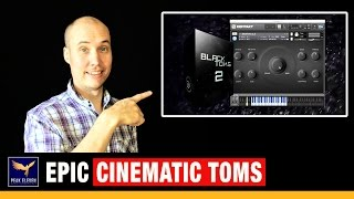 Epic Cinematic Drums Review - BlackToms 2 by Wavesfactory