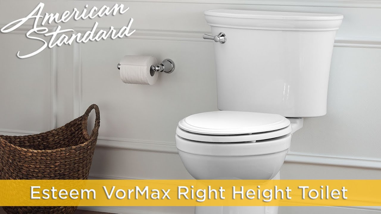 Esteem Vormax Toilet By American Standard Youtube