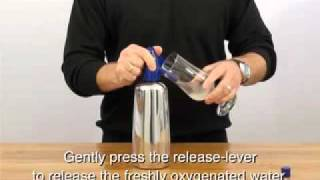 Preparing oxygenated water with the Liss Oxygen Siphon