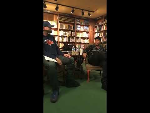 U-God from Wu-Tang Clan Interview, Tattered Cover Book Store - Denver, CO. Friday, March 16th. 2018