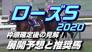 【競馬予想】ローズS2020 枠順確定後の見解!展開予想と推奨馬