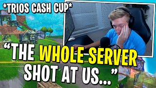 Tfue, 72Hrs, and Cloakzy's Game Was RUINED By GRIEFERS During Tournament!